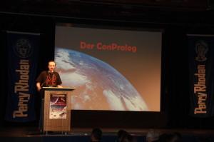 Die Freitags-Eröffnung durch Con-Chef Stefan Friedrich