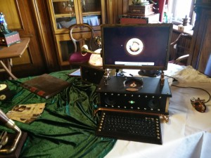 Ausstellung von Horatius Steam