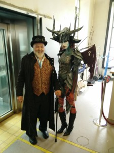The Wizard and the Demon(ess) ;-)