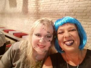 Und noch ein Selfie - Cyborg meets Alien!